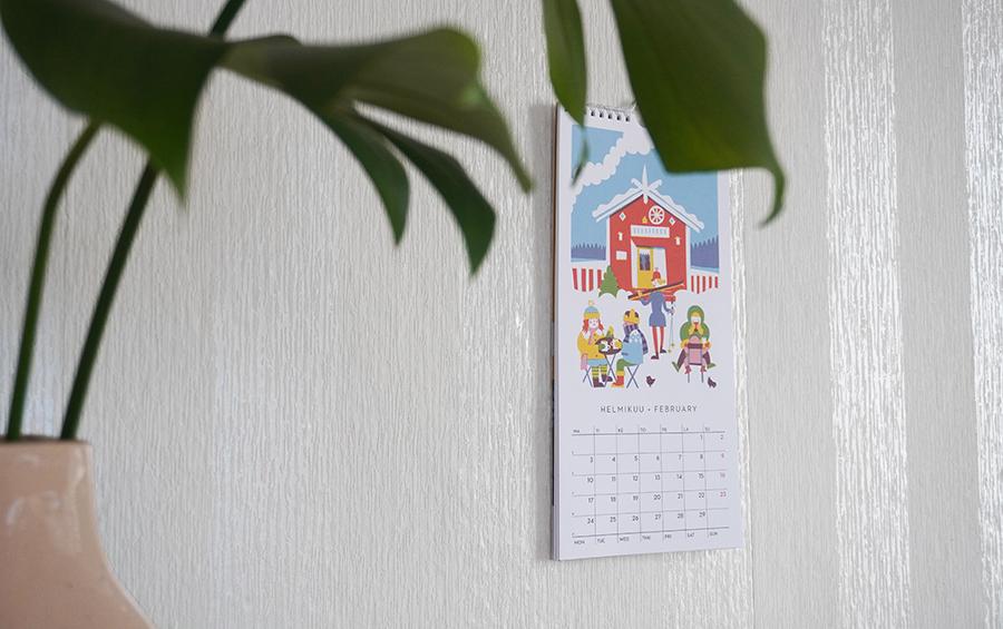 北欧カレンダー