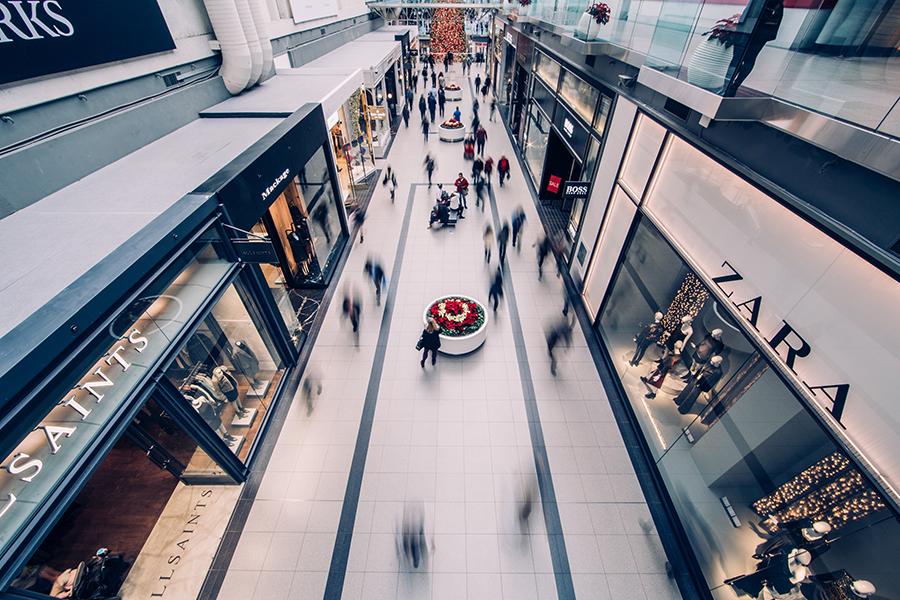 北欧の買い物の様子