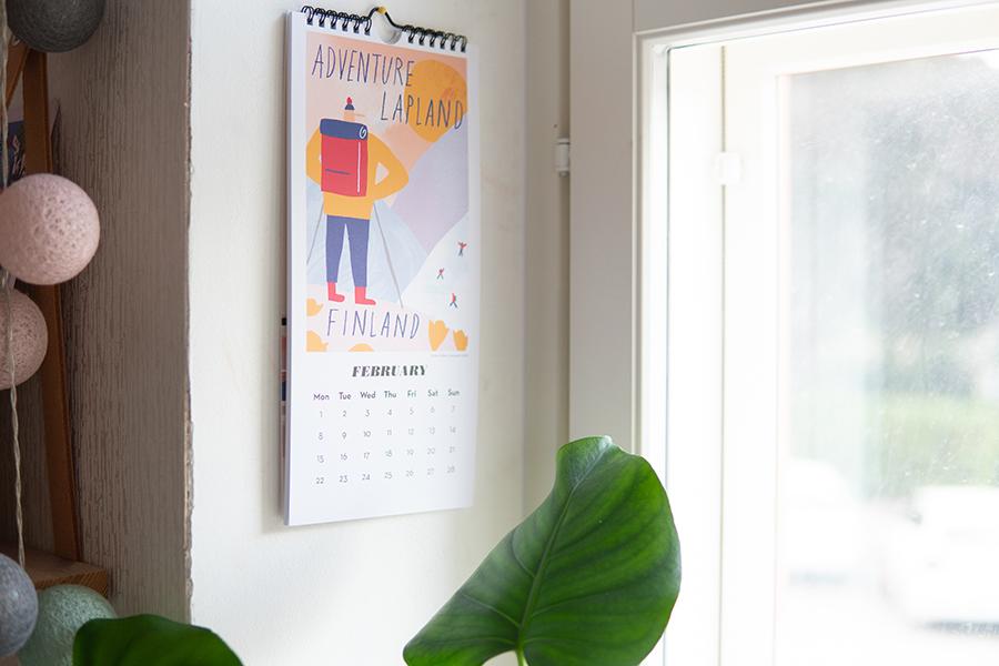 フィンランド カレンダー