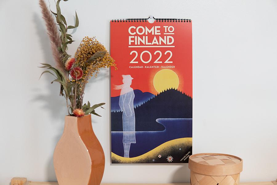 2022年 COME TO FINLAND カレンダー