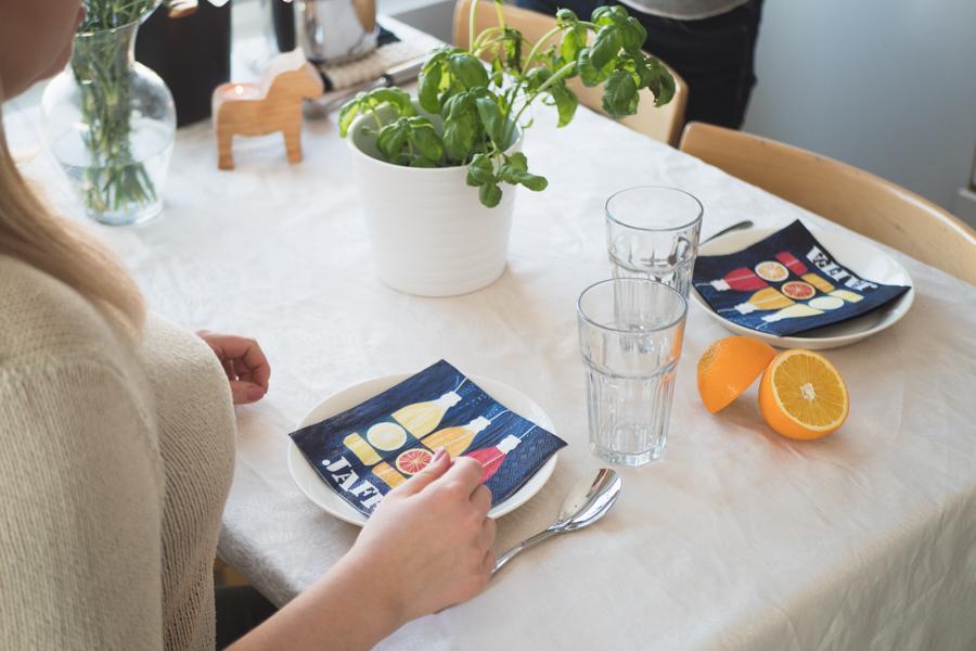 テーブル写真