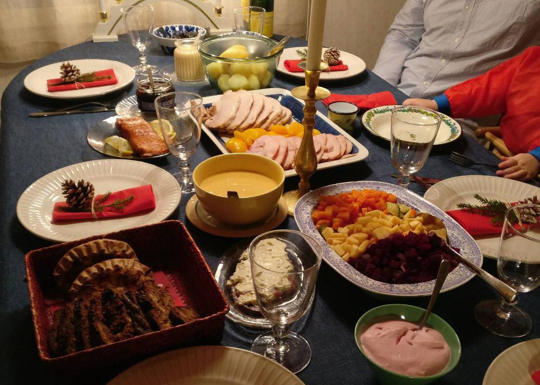 フィンランド クリスマス食事