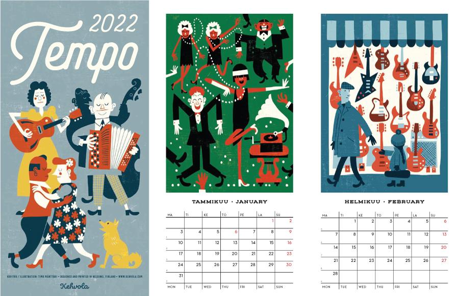 北欧 ケフボラカレンダー 2022