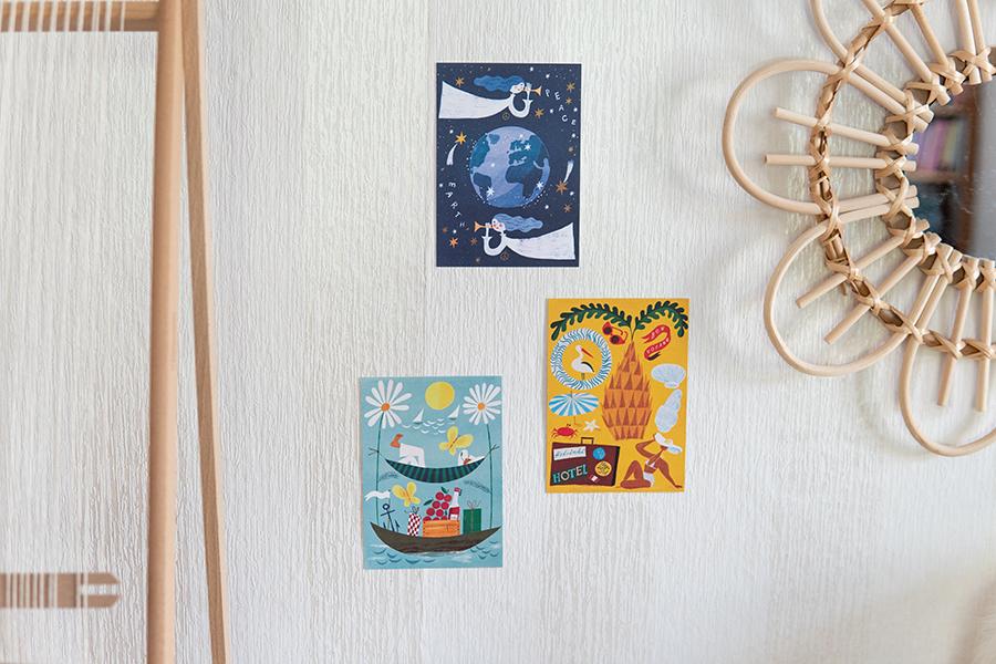 フィンランド サンナマンデル ポストカード