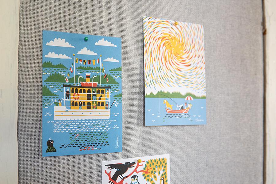 ティモのインテリアポストカード色々の写真