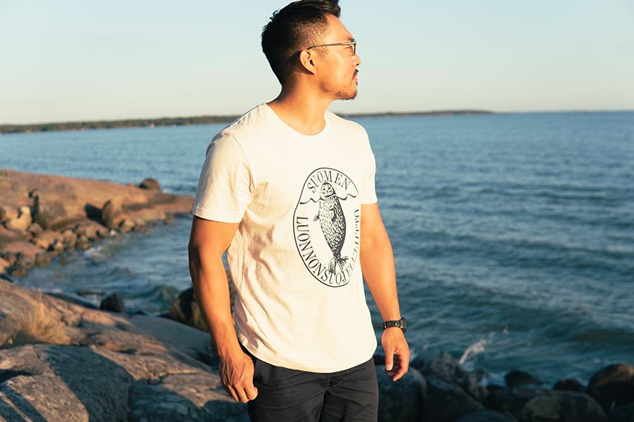 Tシャツ「アザラシロゴ」