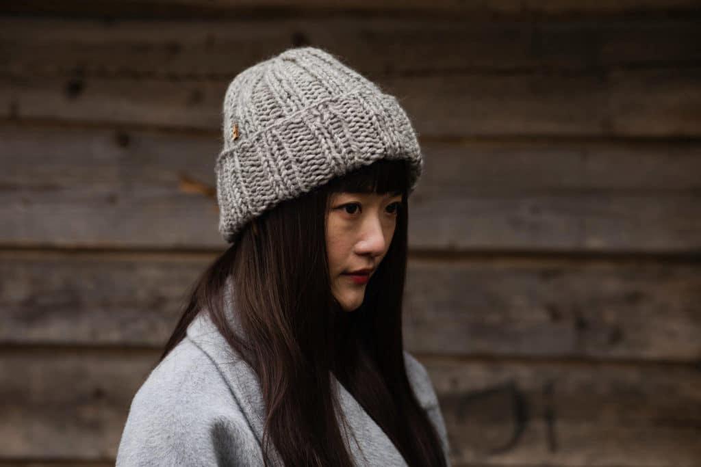 myssyfarmi ムッフィ ニット帽 使用写真