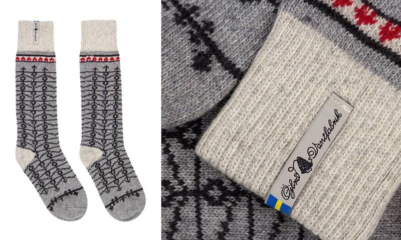 北欧 ウール靴下