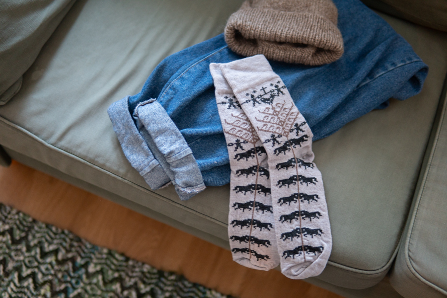 ojbrovantfabrik オイブロ 北欧靴下 イメージ写真