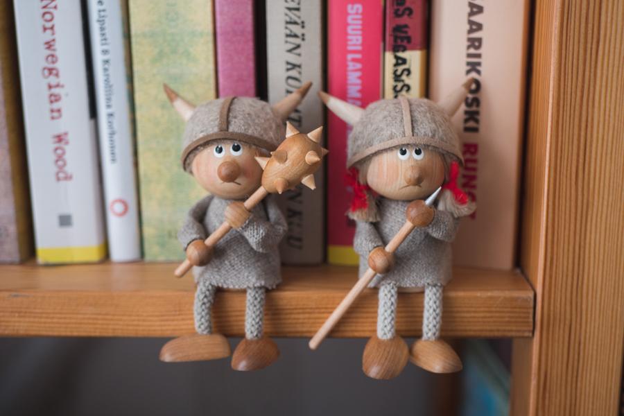バイキング人形の写真