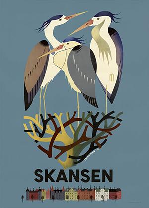 スカンセンのサギ